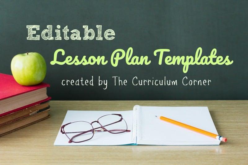 Classroom Design Powerpoint ~ Lesson plan templates the curriculum corner
