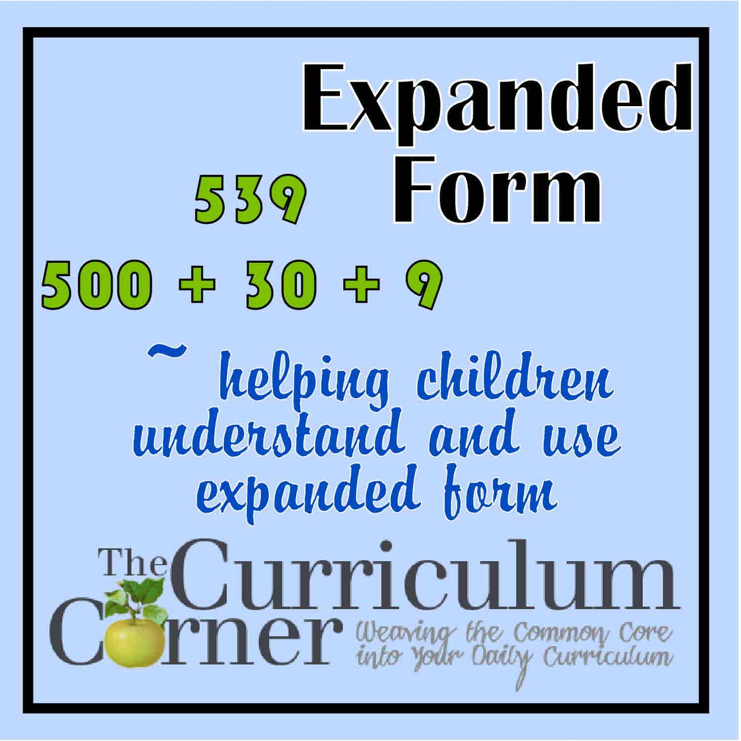 Number Sense Archives - Page 6 of 8 - The Curriculum Corner 123