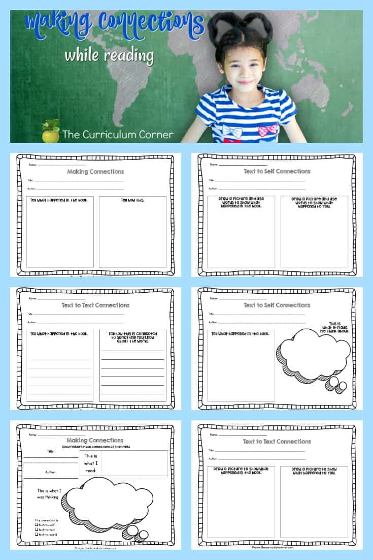 making connections graphic organizers