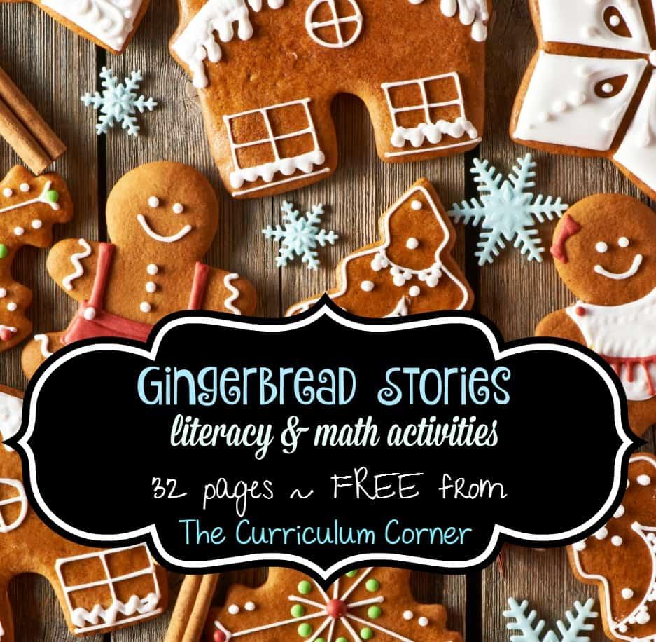 Gingerbread Stories The Curriculum Corner 123