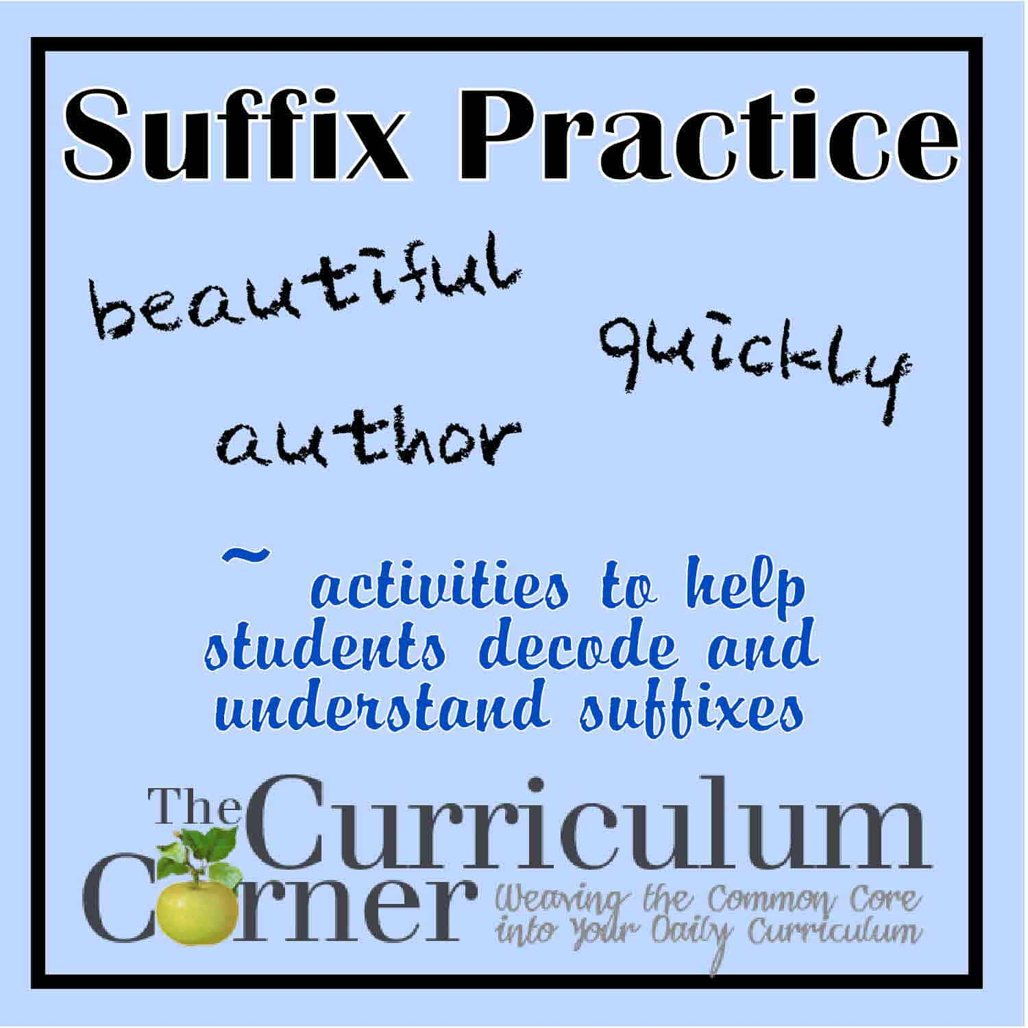 Everything Suffixes