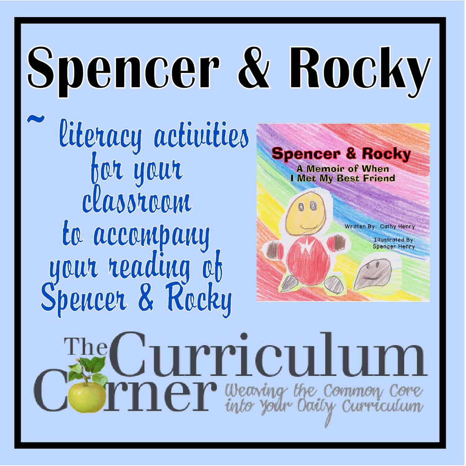Spencer & Rocky Reading Activities