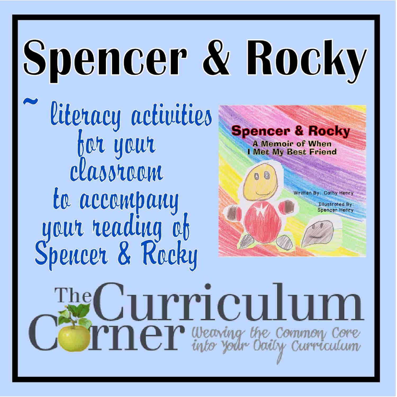 Spencer & Rocky Reading Activities