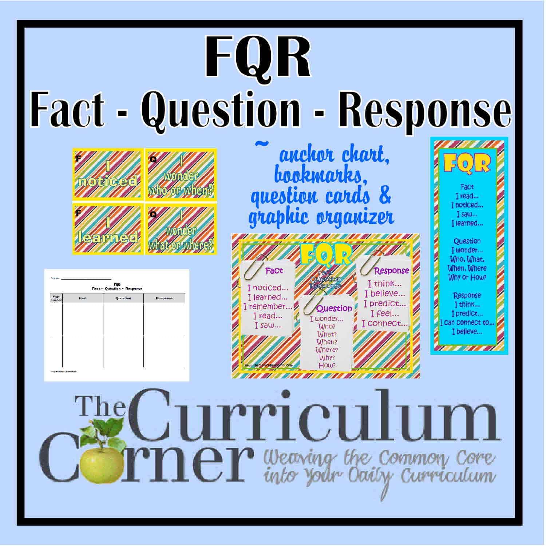 FQR – Fact, Question, Response