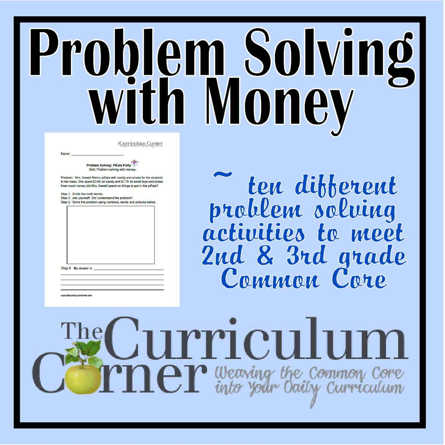Problem Solving Archives - Page 2 of 2 - The Curriculum Corner 123