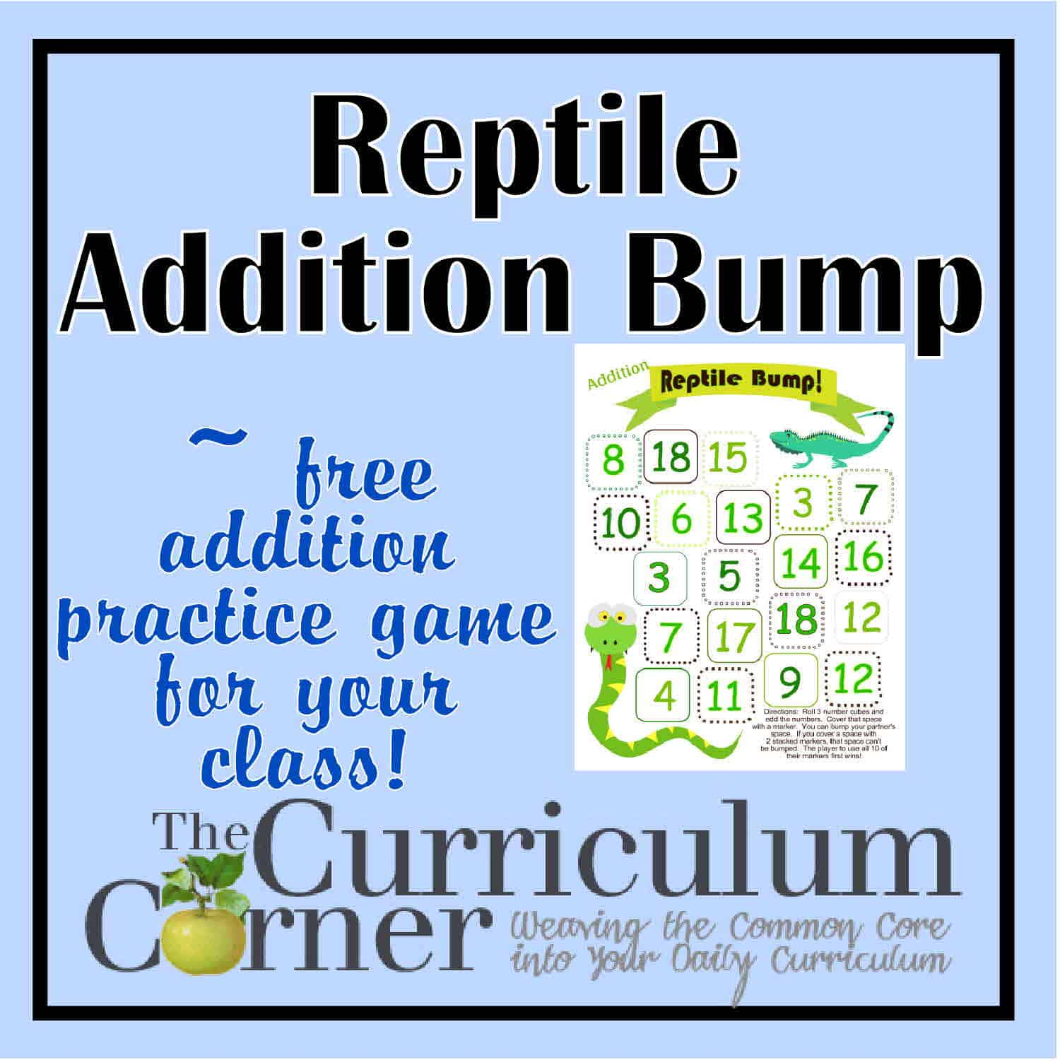 Reptile Addition Bump