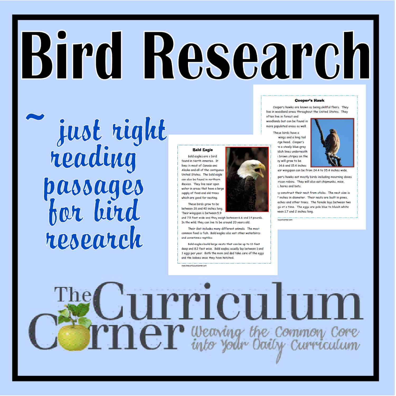 Bird Research Passages