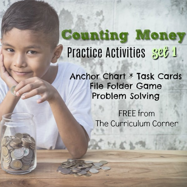 Counting Money Activities Set 1