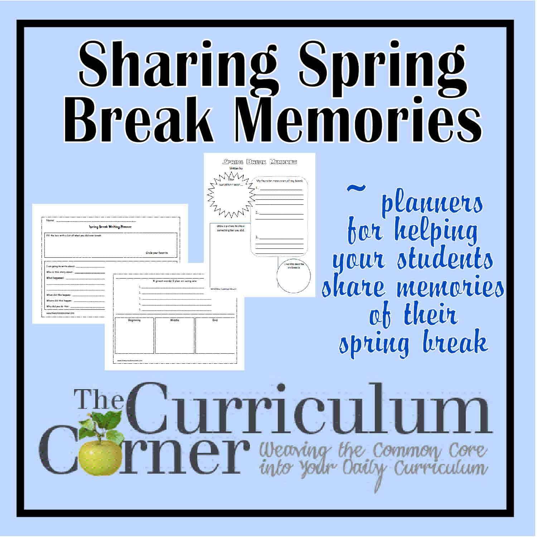 Sharing Spring Break Memories