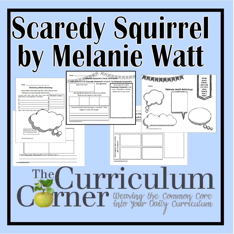 Scaredy Squirrel Books by Melanie Watt