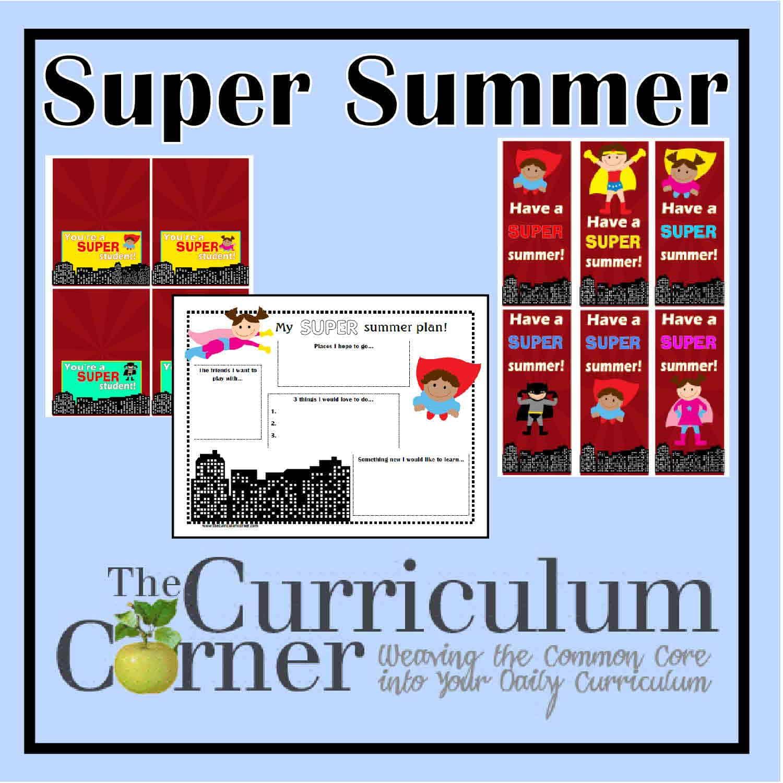 Have a Super Summer Printables!