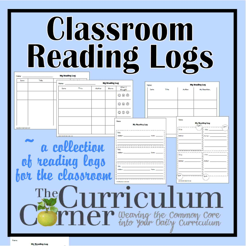 Classroom Reading Logs