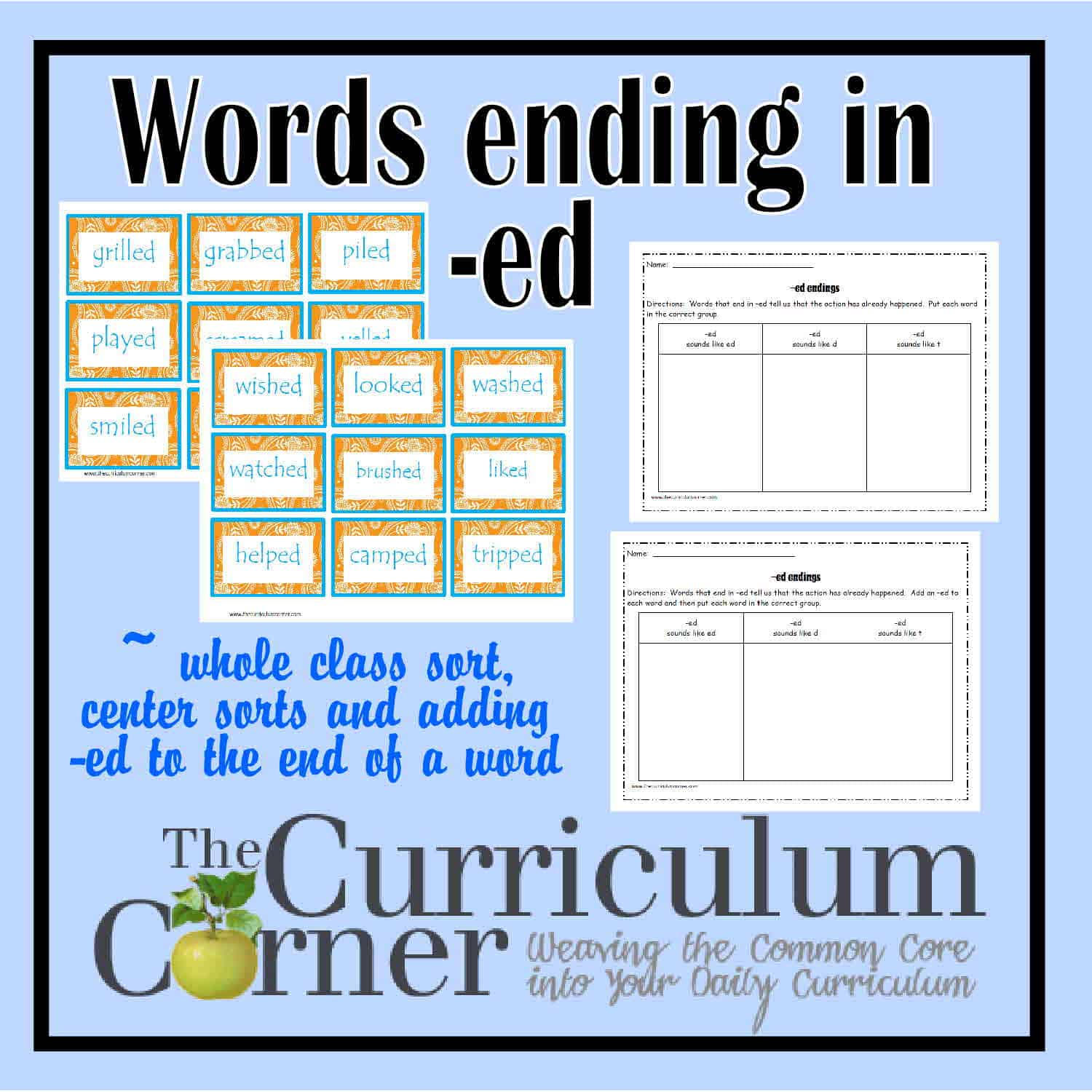 -ed Word Endings