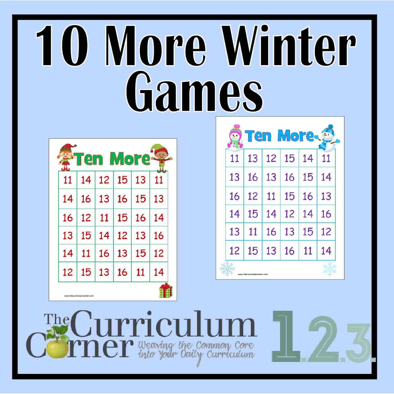 """""""+ Ten""""  Winter Games"""