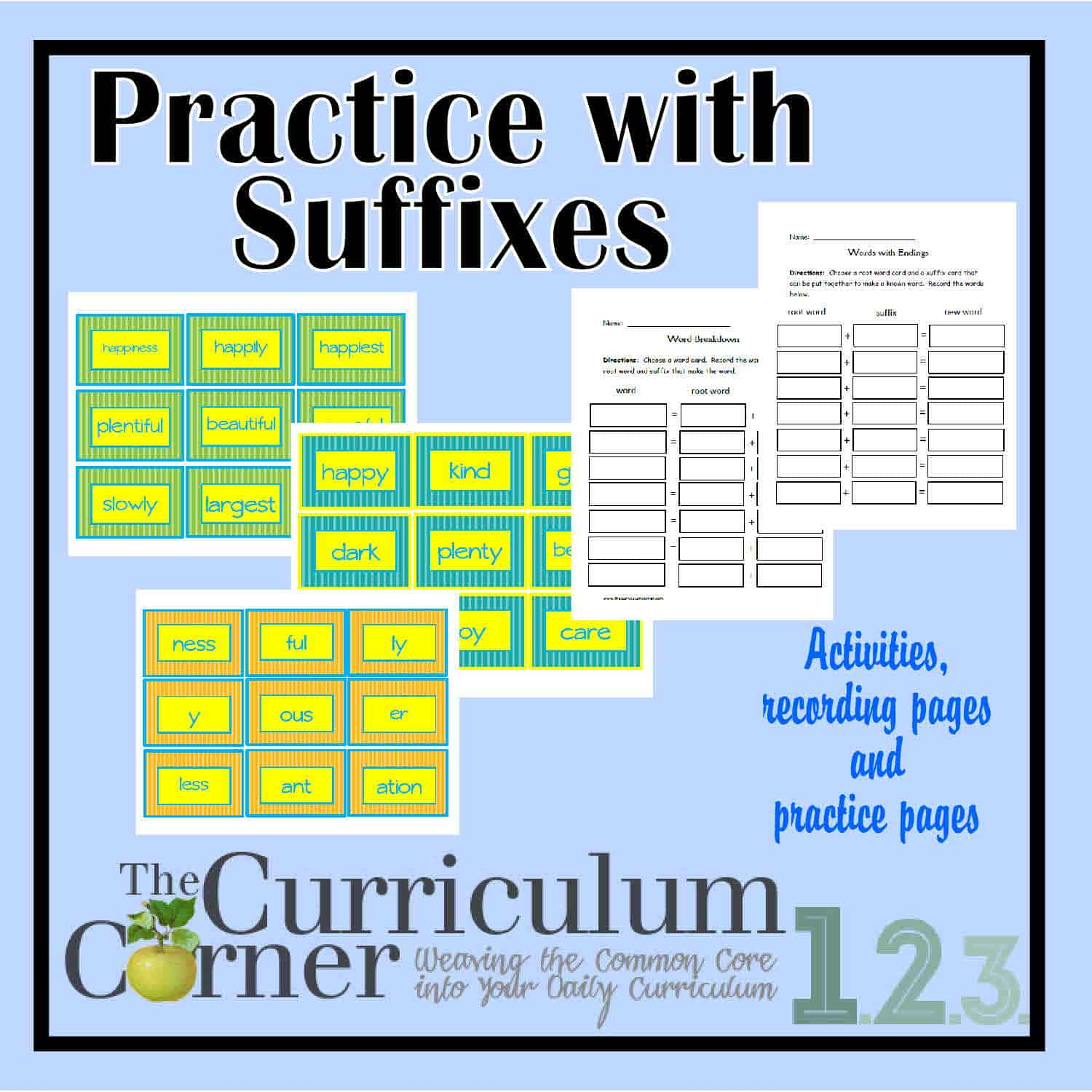 Practice with Suffixes