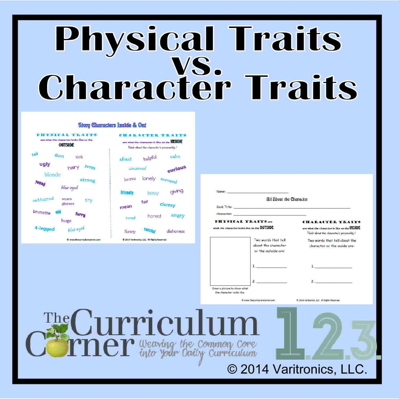 Physical Traits vs. Character Traits