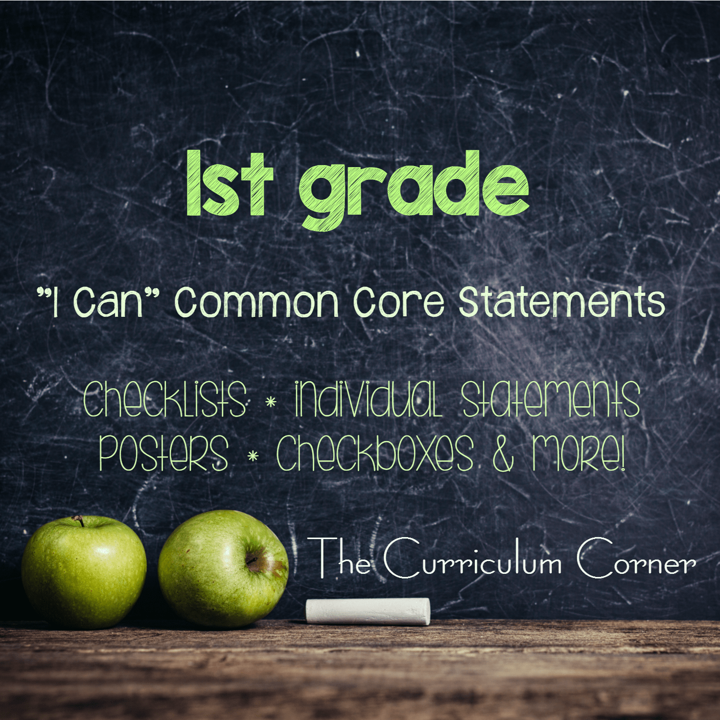 "Everything ""I Can"" Common Core 1st Grade"