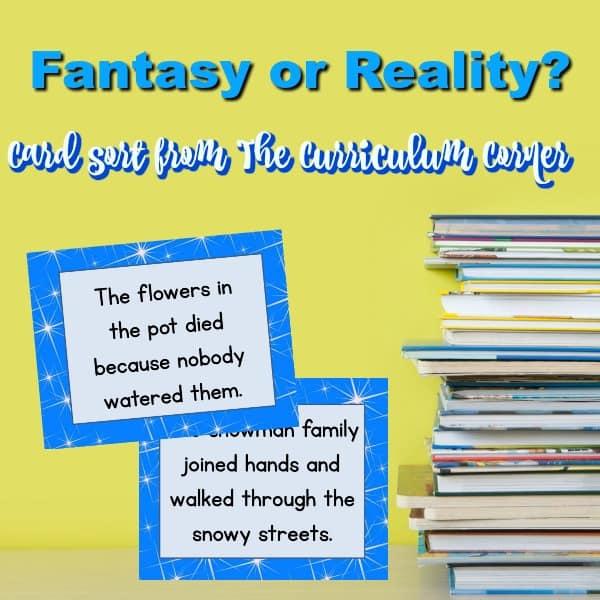 Fantasy & Reality Card Sort
