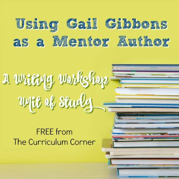 Author Study: Meet Gail Gibbons