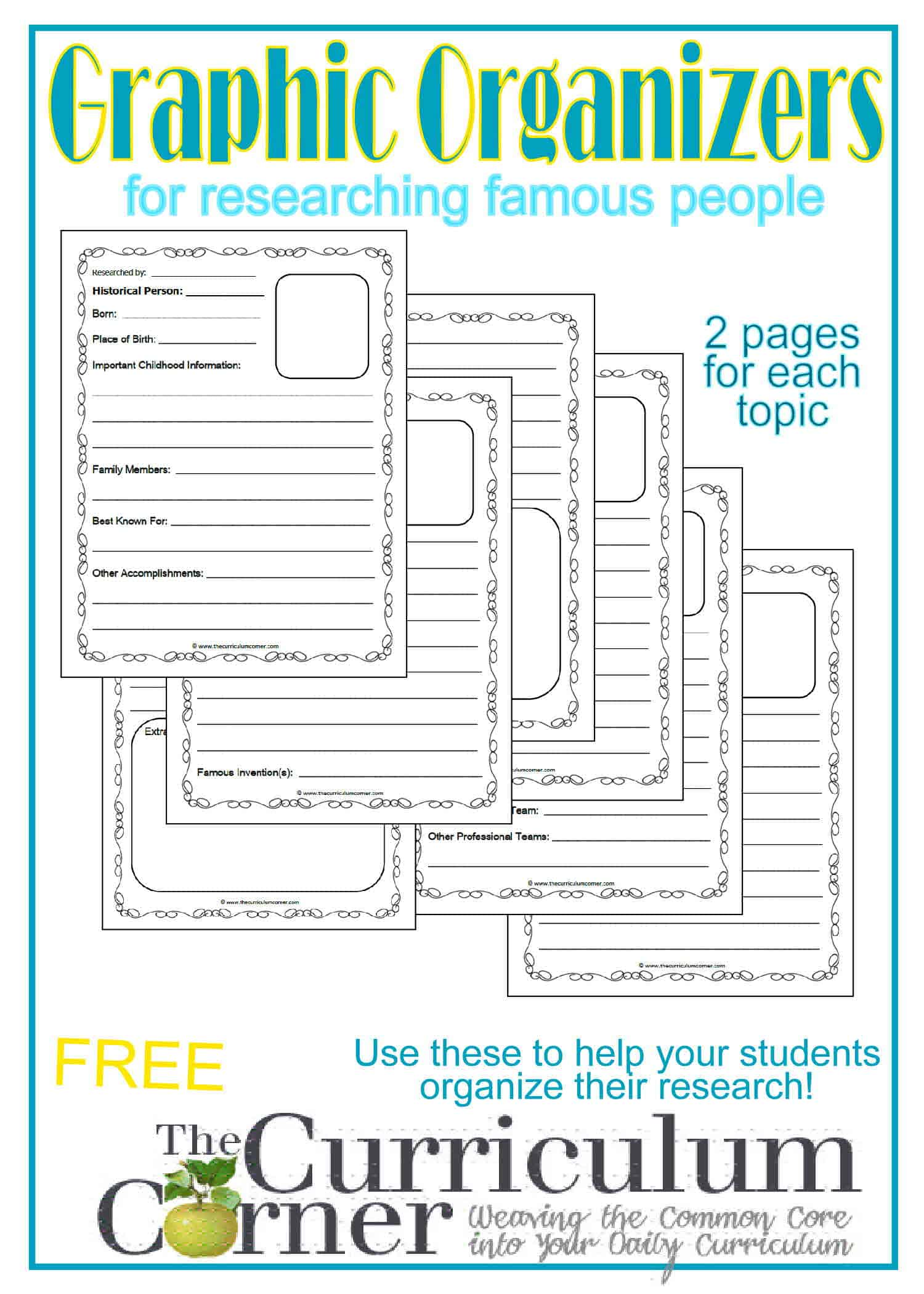 Great people to do research papers on