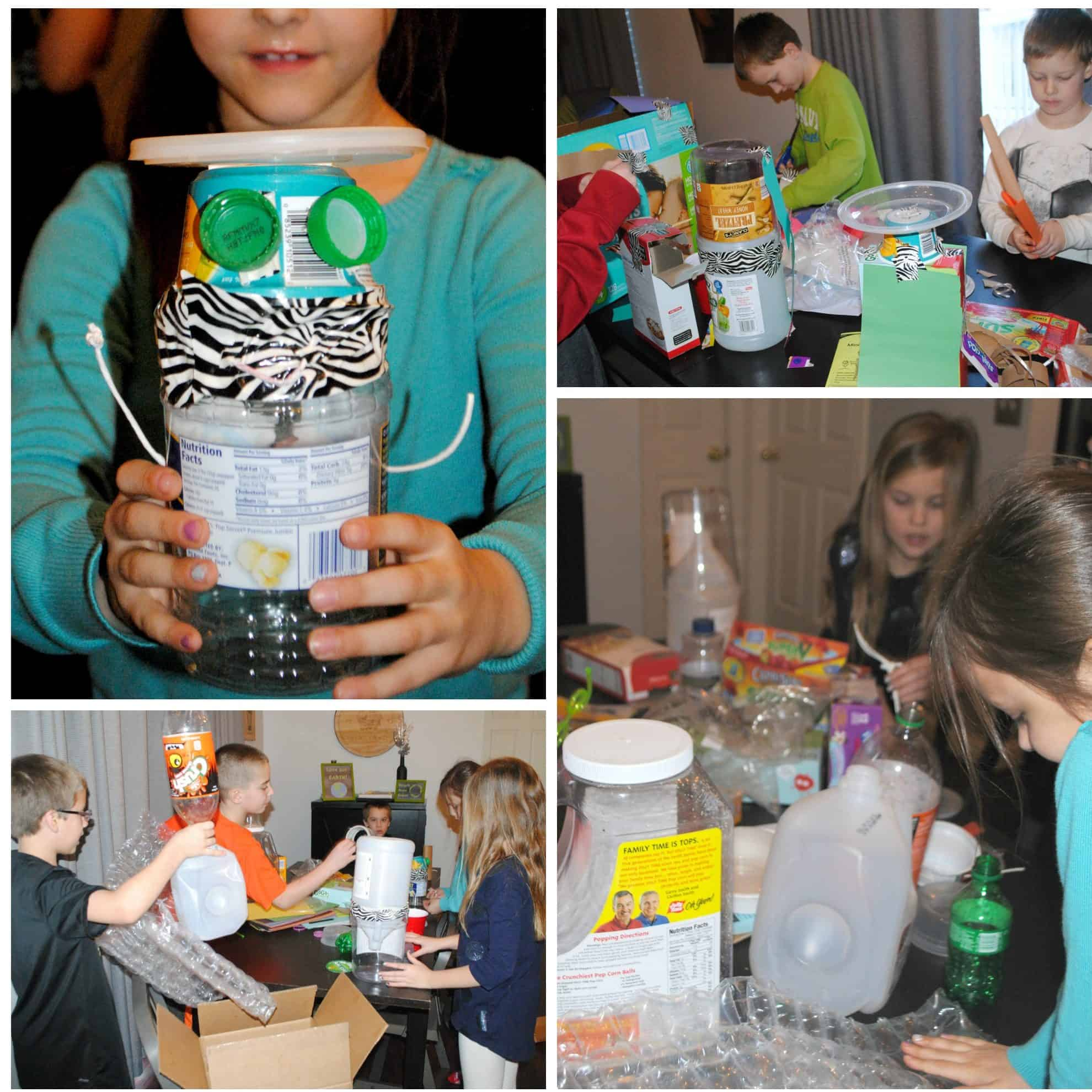 Recycling Project & Classroom Decor