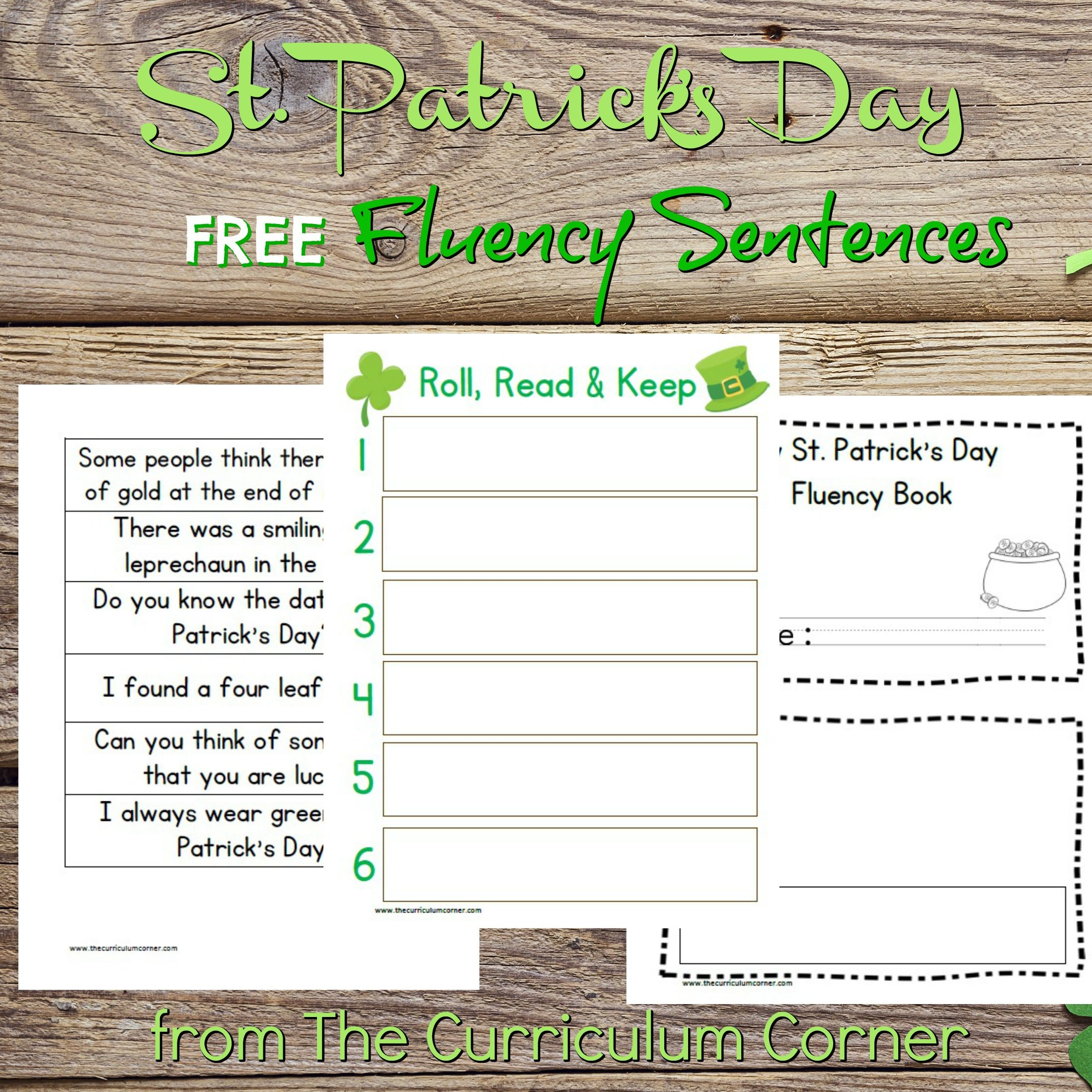St. Patrick's Day Fluency Sentences