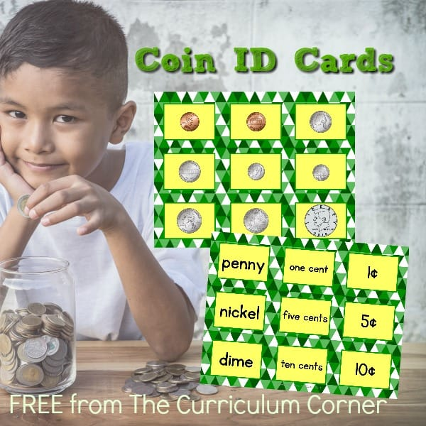 Coin ID Sorting Cards