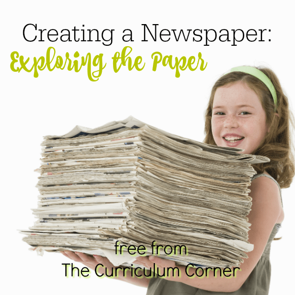 Newspapers: Part 1 Exploring the Paper