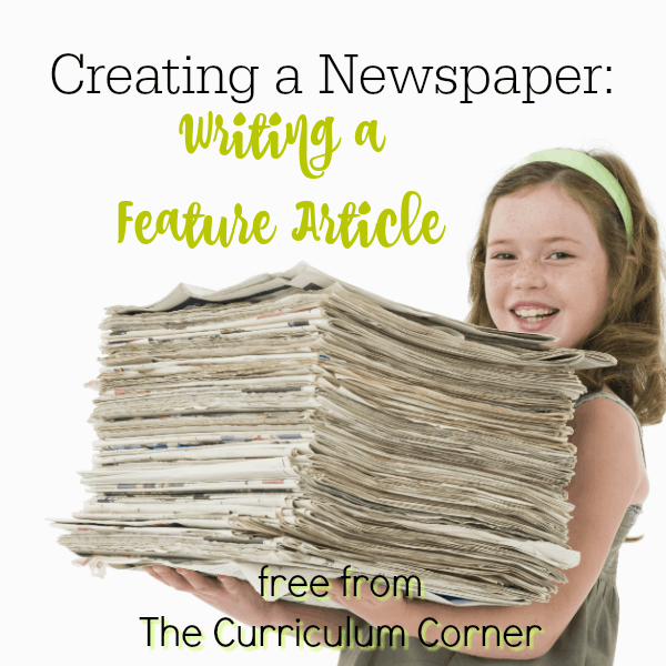 Newspapers Part 4:  Writing a Feature Article