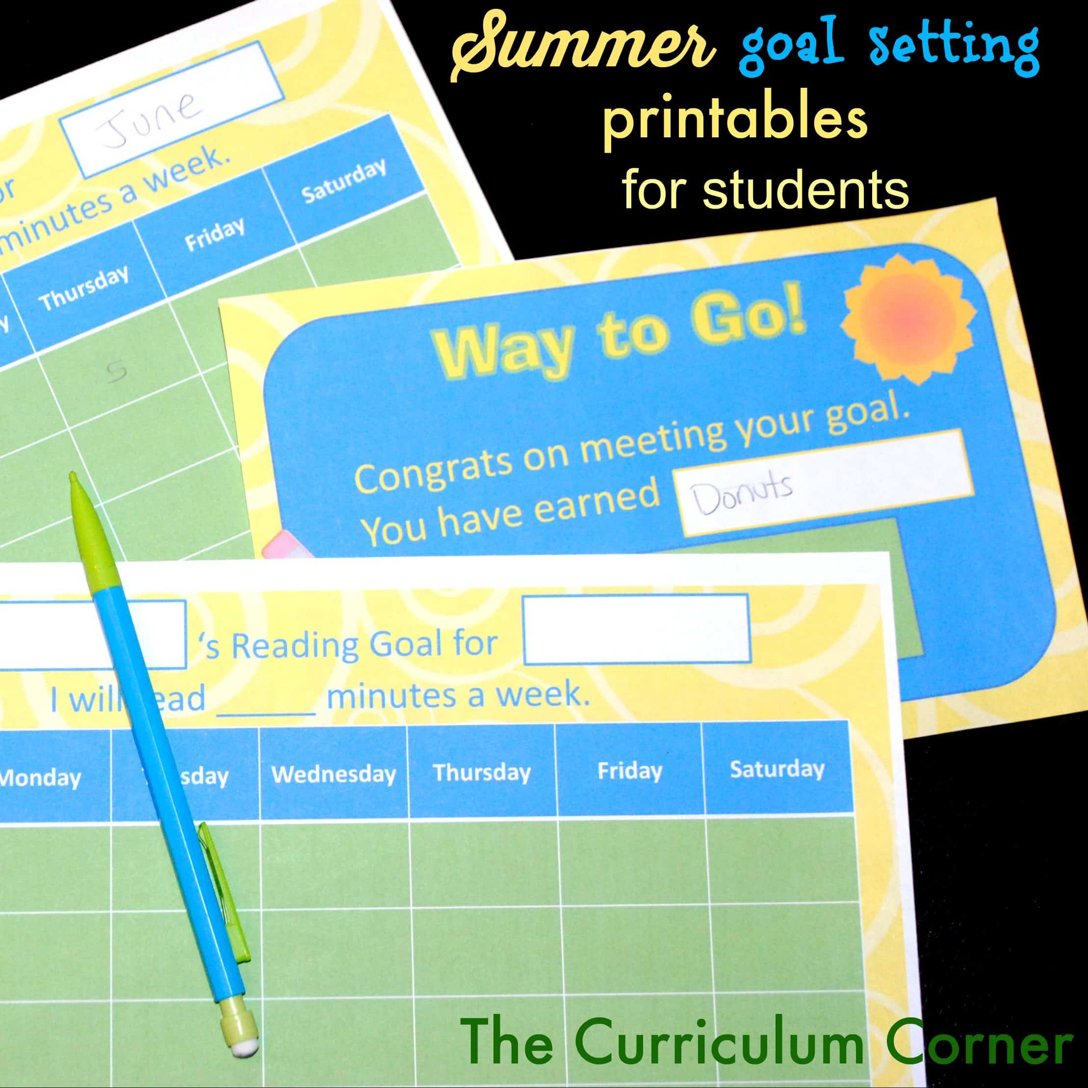 Keep Your Children Learning Over Summer! - The Curriculum Corner 123