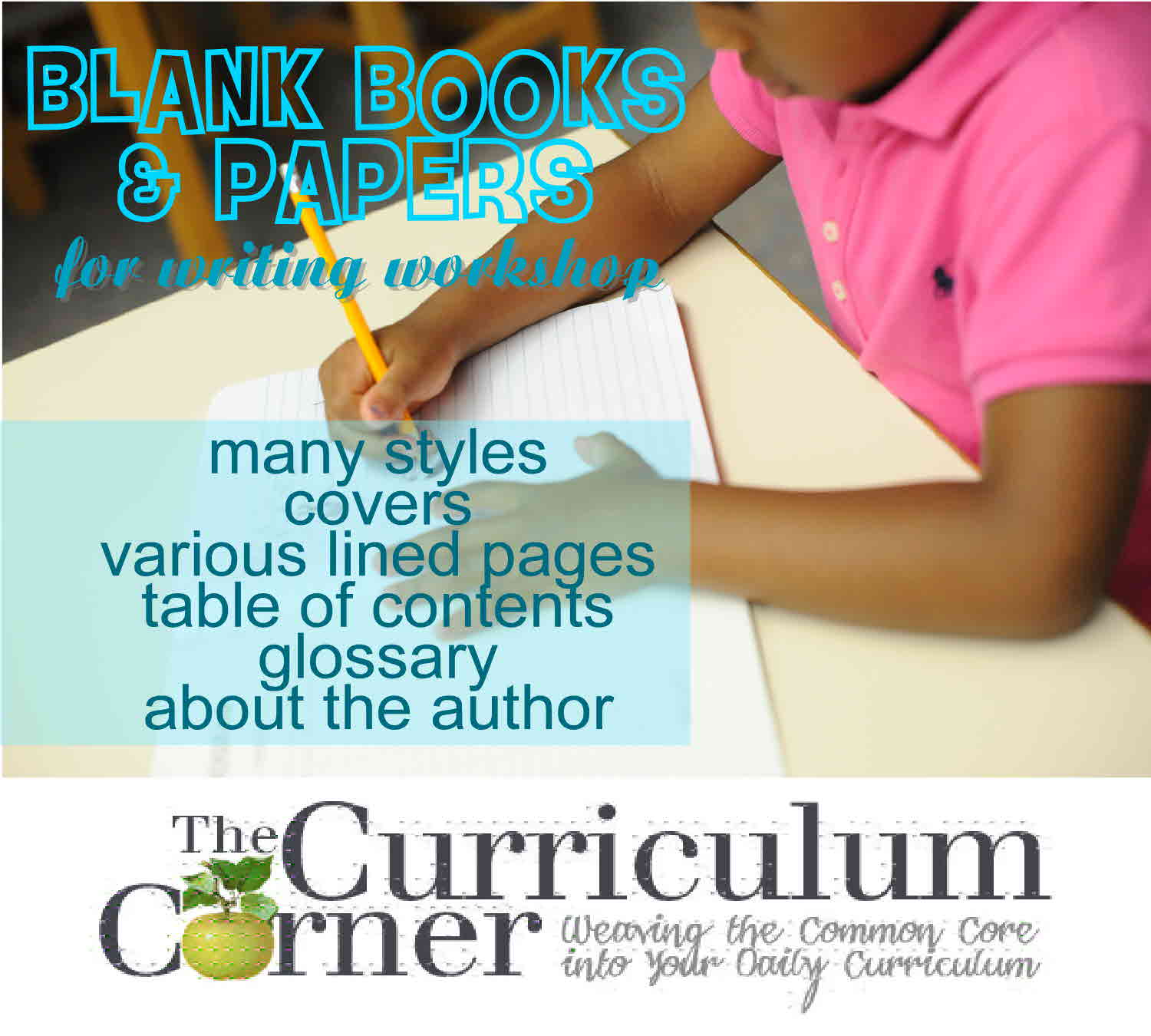 Blank Books & Papers for Writing Workshop
