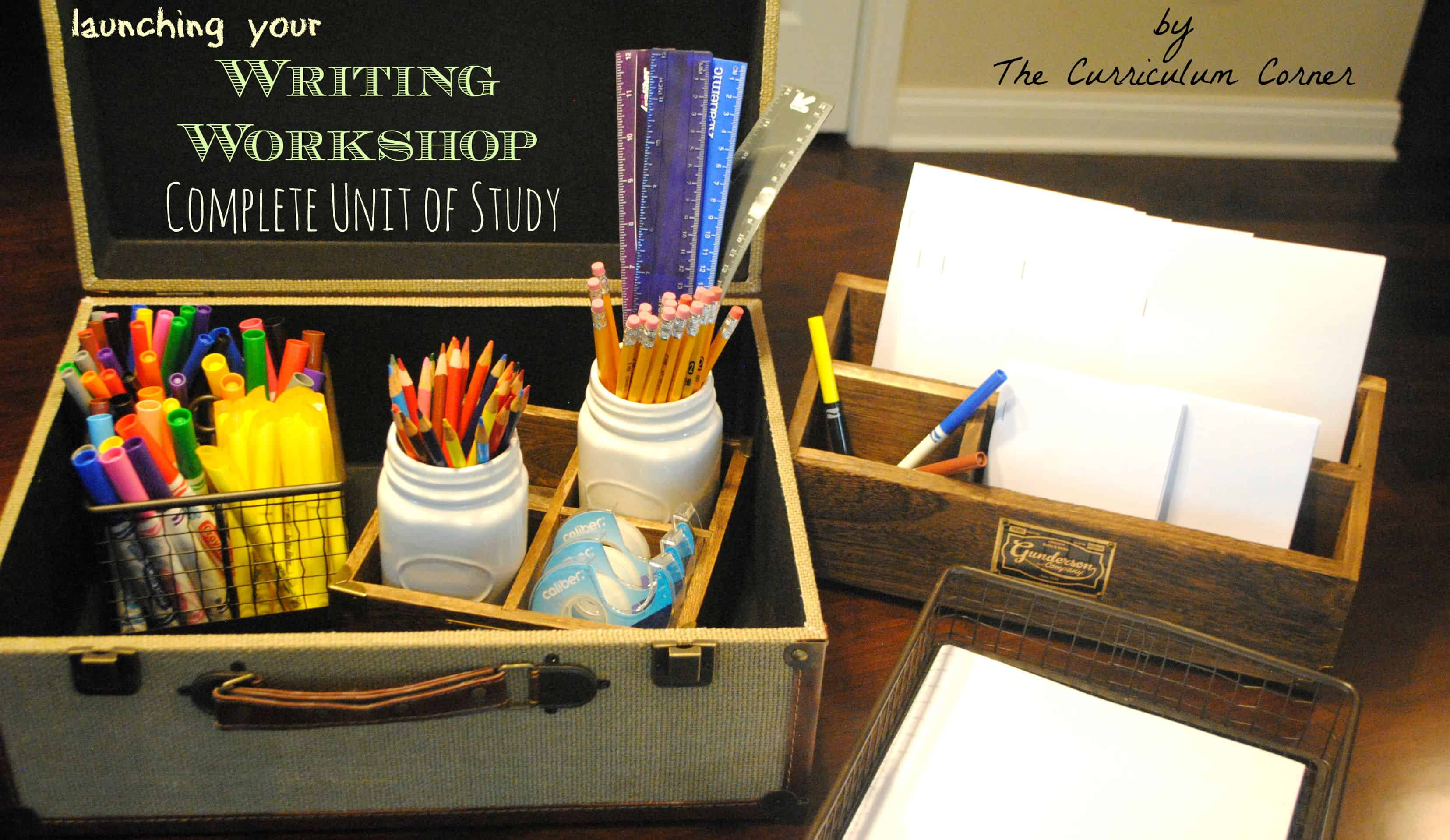 Launching Your Writer's Workshop **Updated**