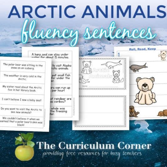 Arctic Animals Fluency Sentences