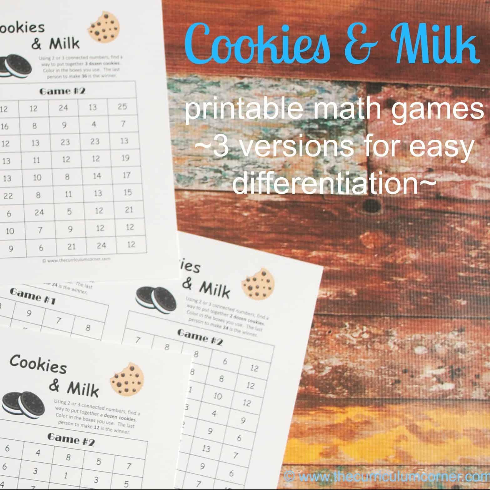 Cookie Computation (& Teacher Gift Idea!)