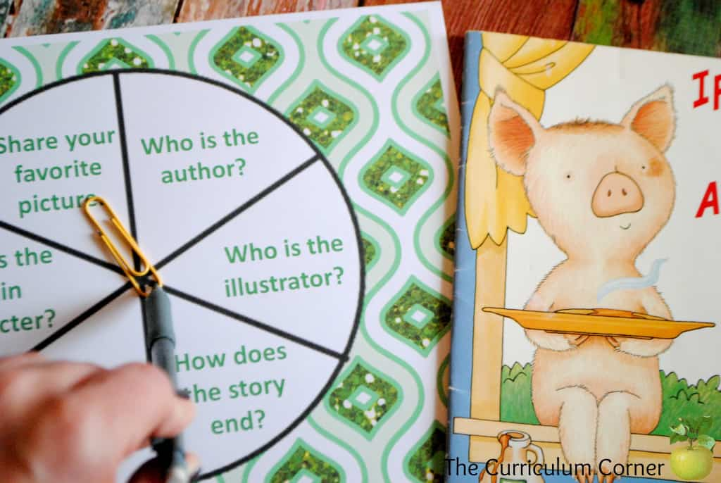 Literature Comprehension Resources for Small Group Instruction FREE from The Curriculum Corner