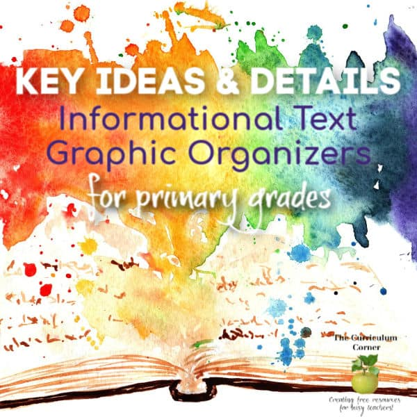 Graphic Organizers for Informational Text