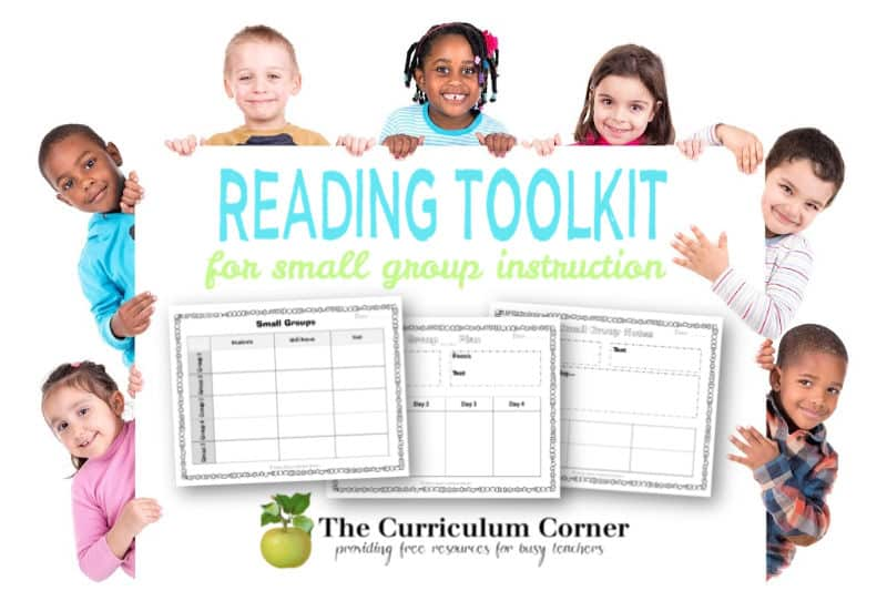 small group reading instruction