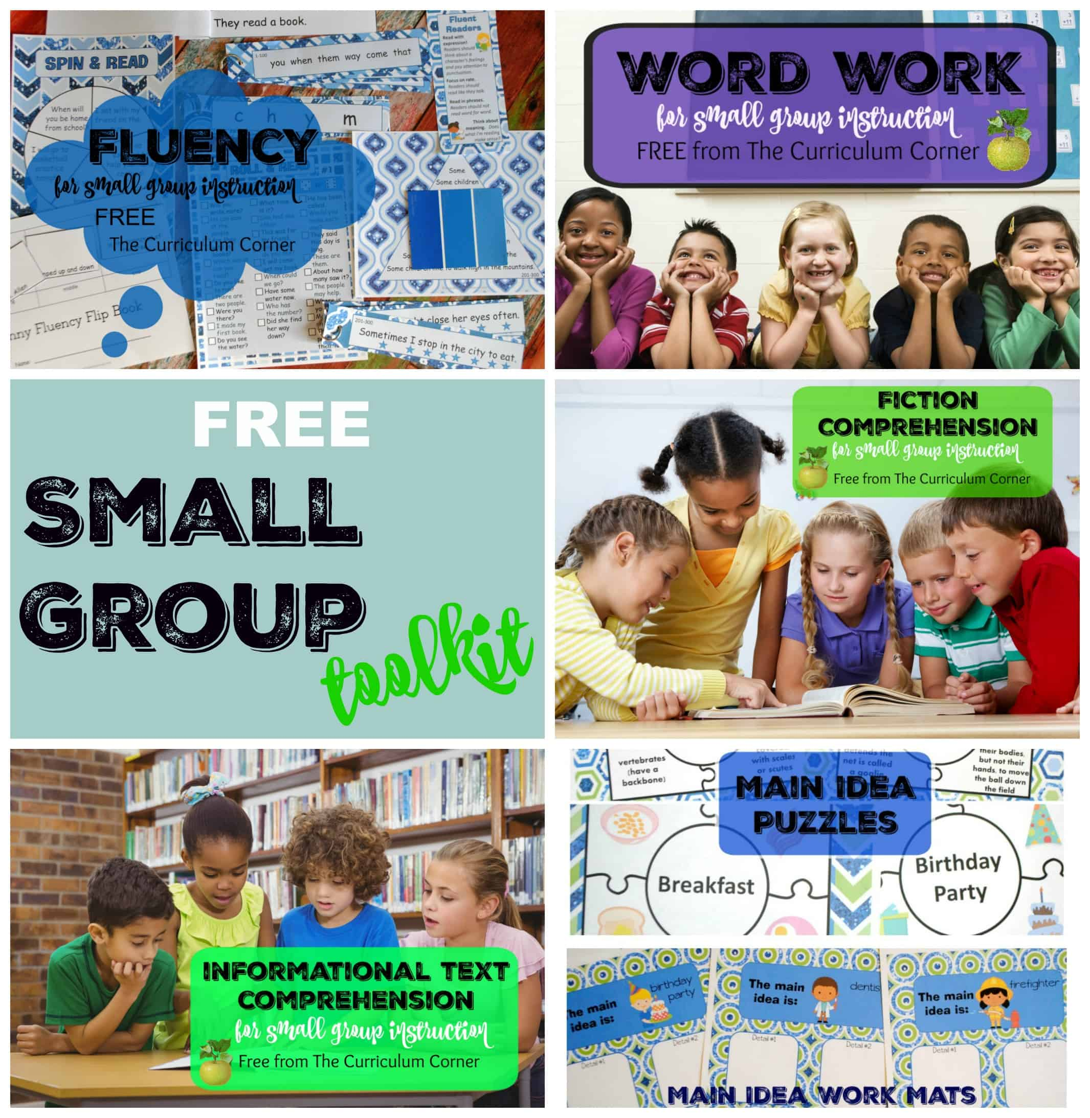 Small Group Reading Toolkit