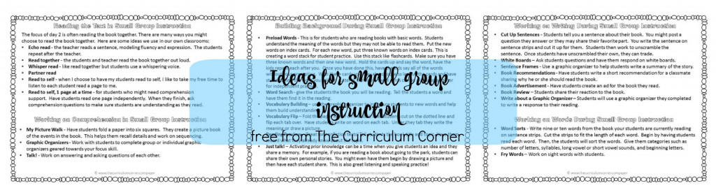 Free Small Group Curriculum 43