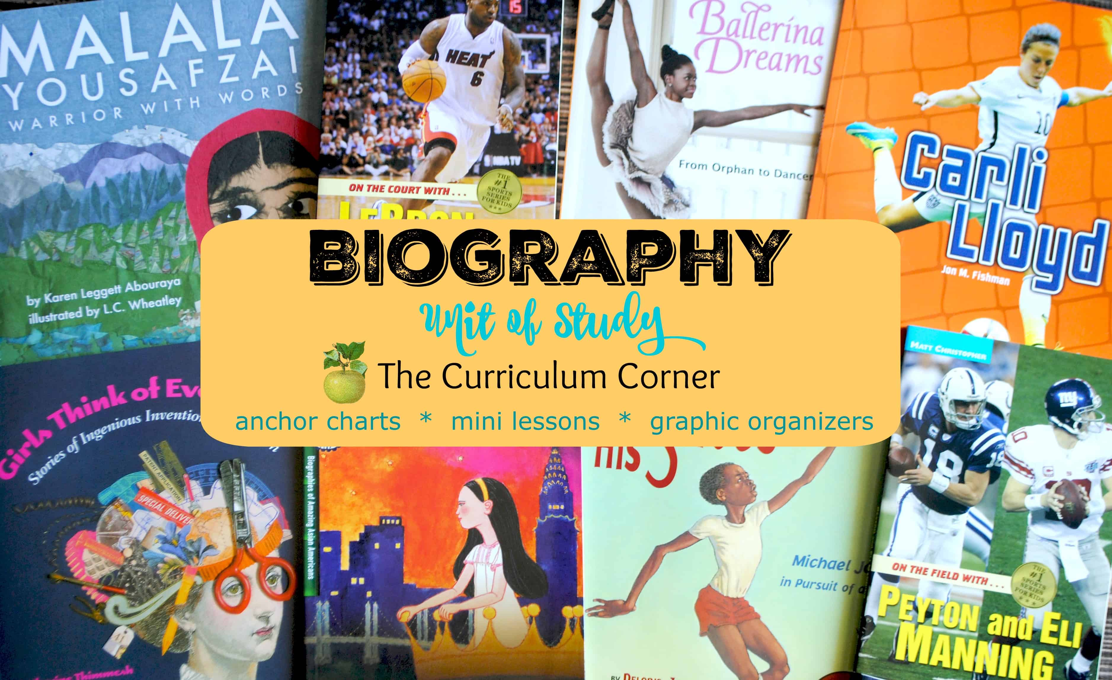 Biography Unit of Study for Reading