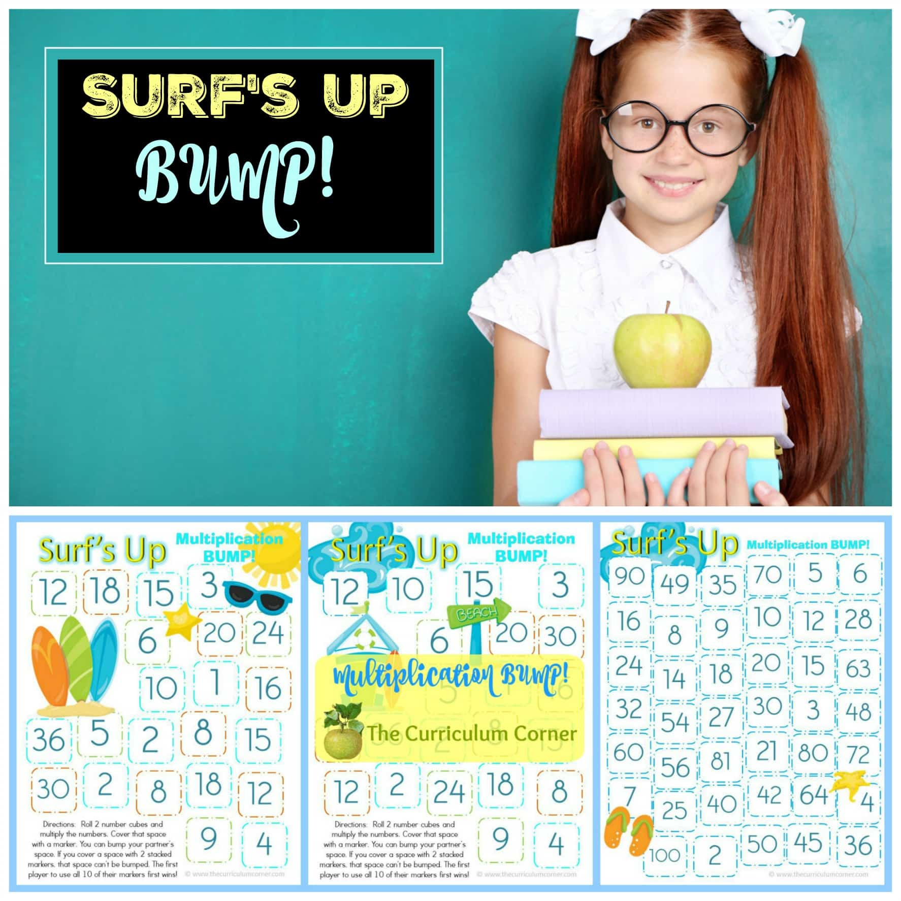 Surf's Up Multiplication Bump
