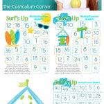 Surf's Up! Multiplication BUMP! FREE from The Curriculum Corner