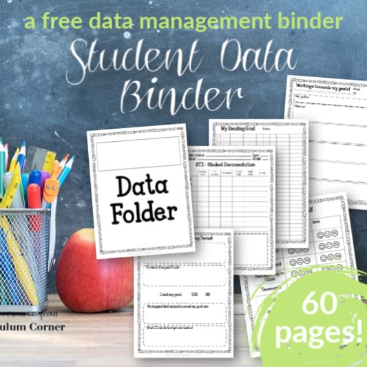 Editable Student Data Tracking