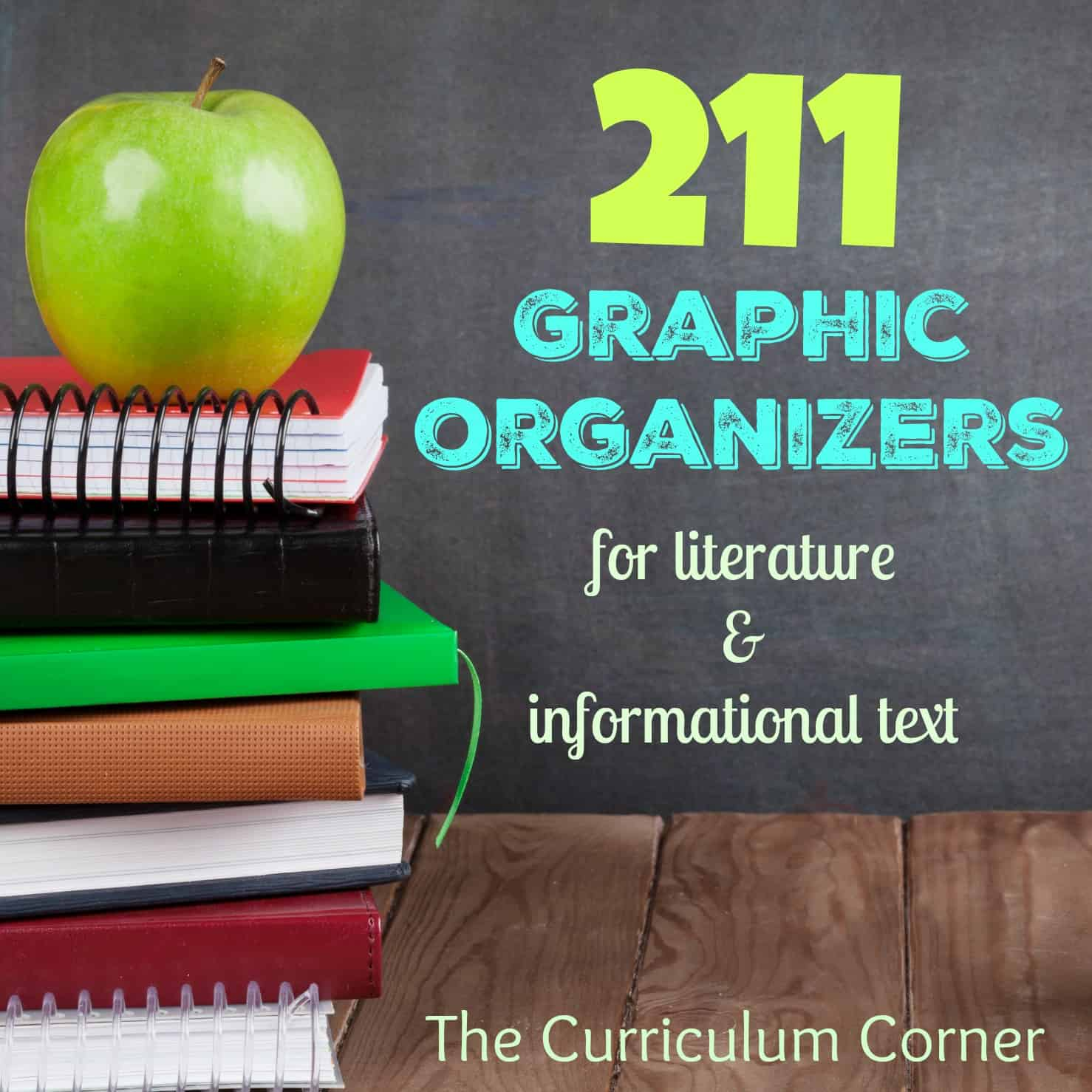 211 Reading Graphic Organizers