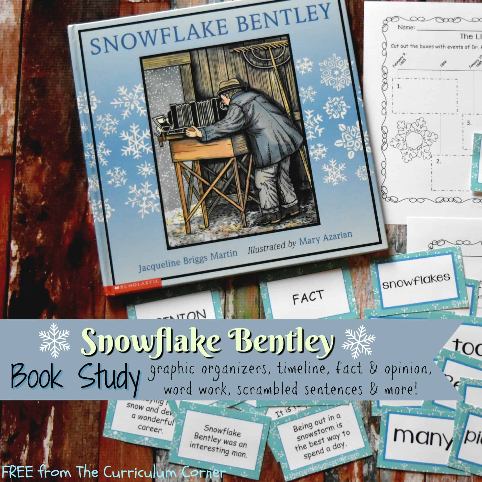 Book Study: Snowflake Bentley