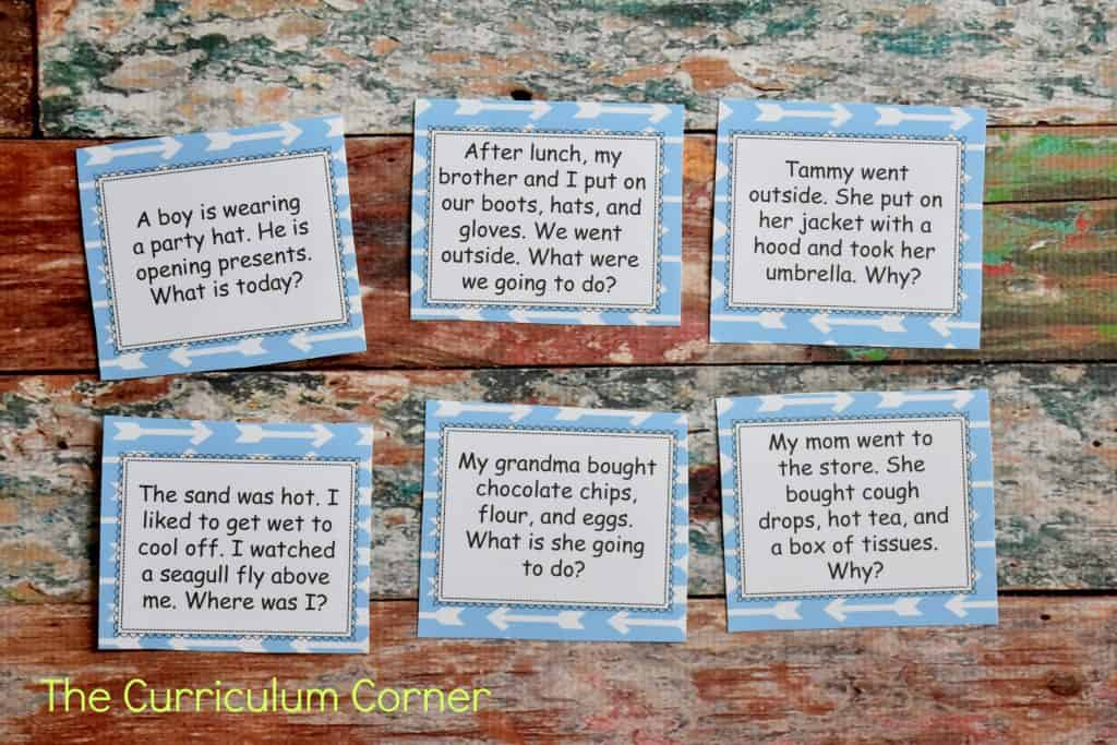 FREE Inferencing Activities Collection by The Curriculum Corner 2