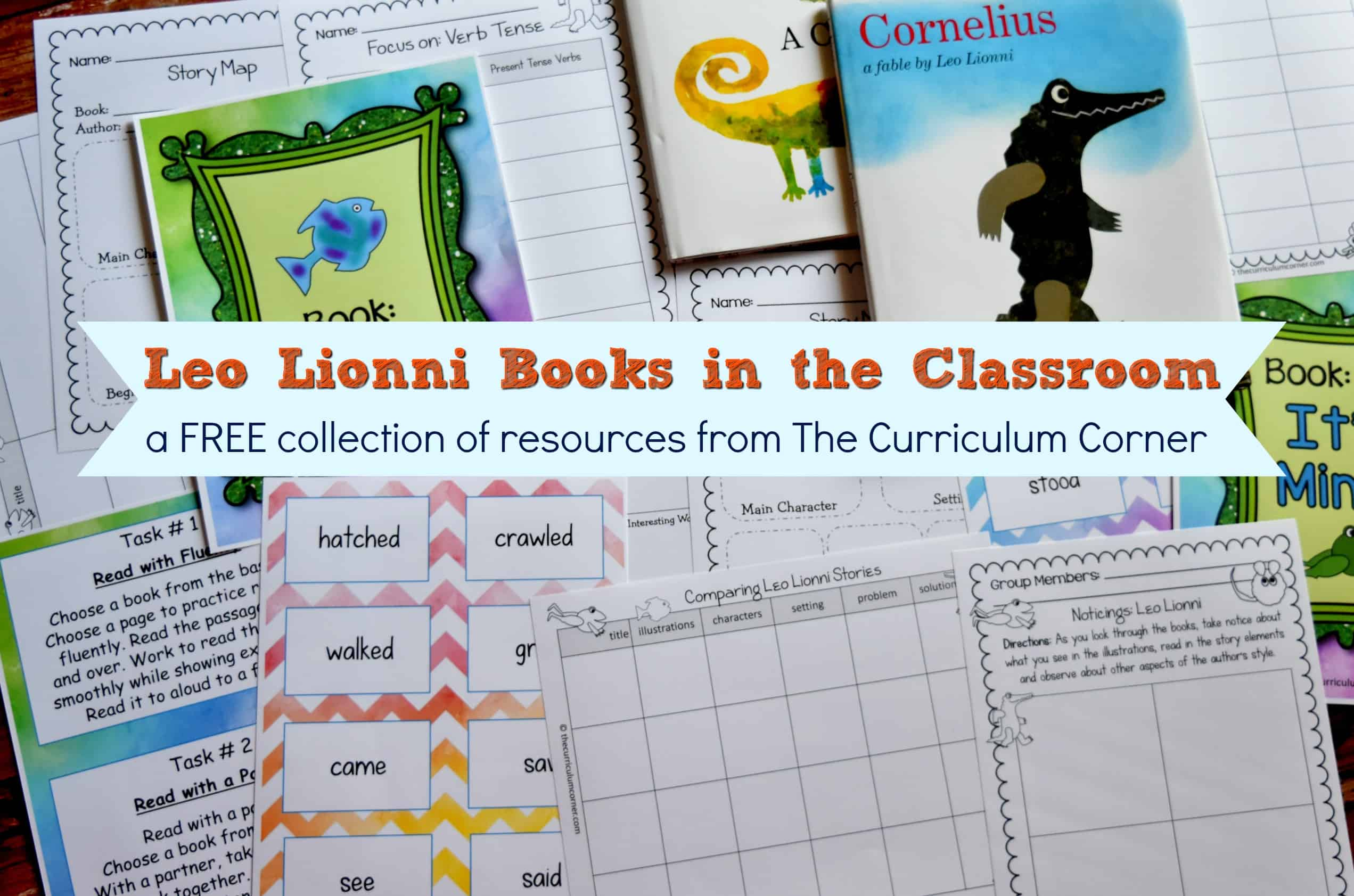 leo lionni books in the classroom the curriculum corner 123