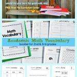 Math Vocabulary 4