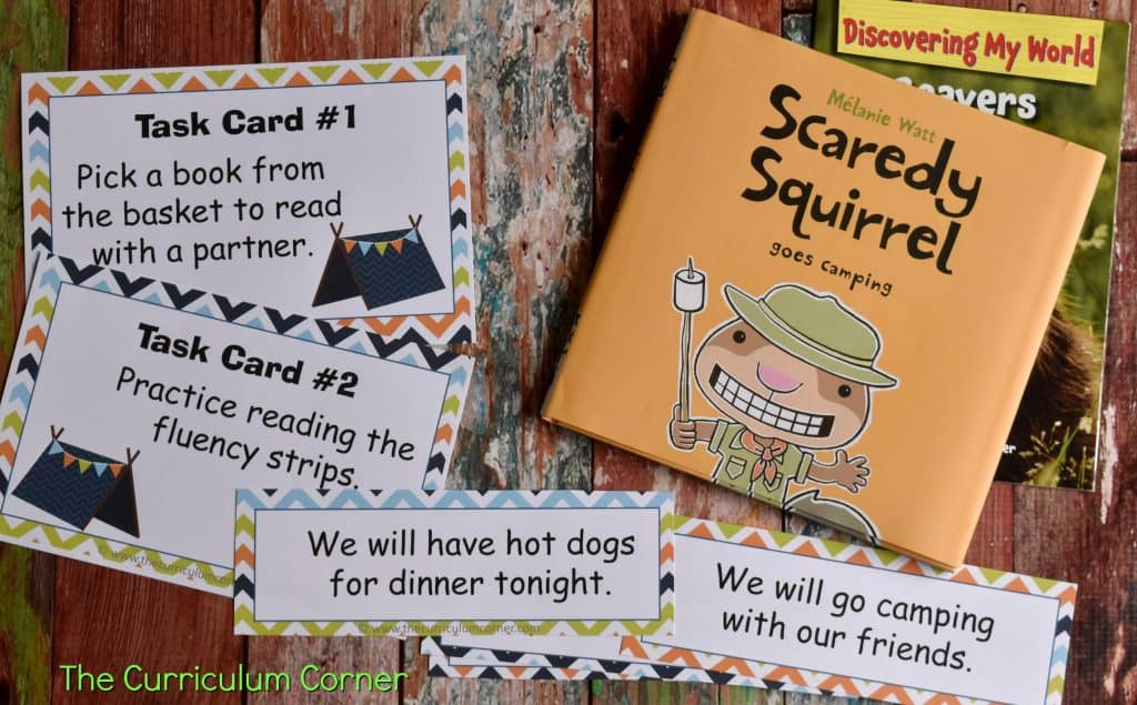 Camping Classroom Theme   FREE Camping Literacy Pack from The Curriculum Corner 3