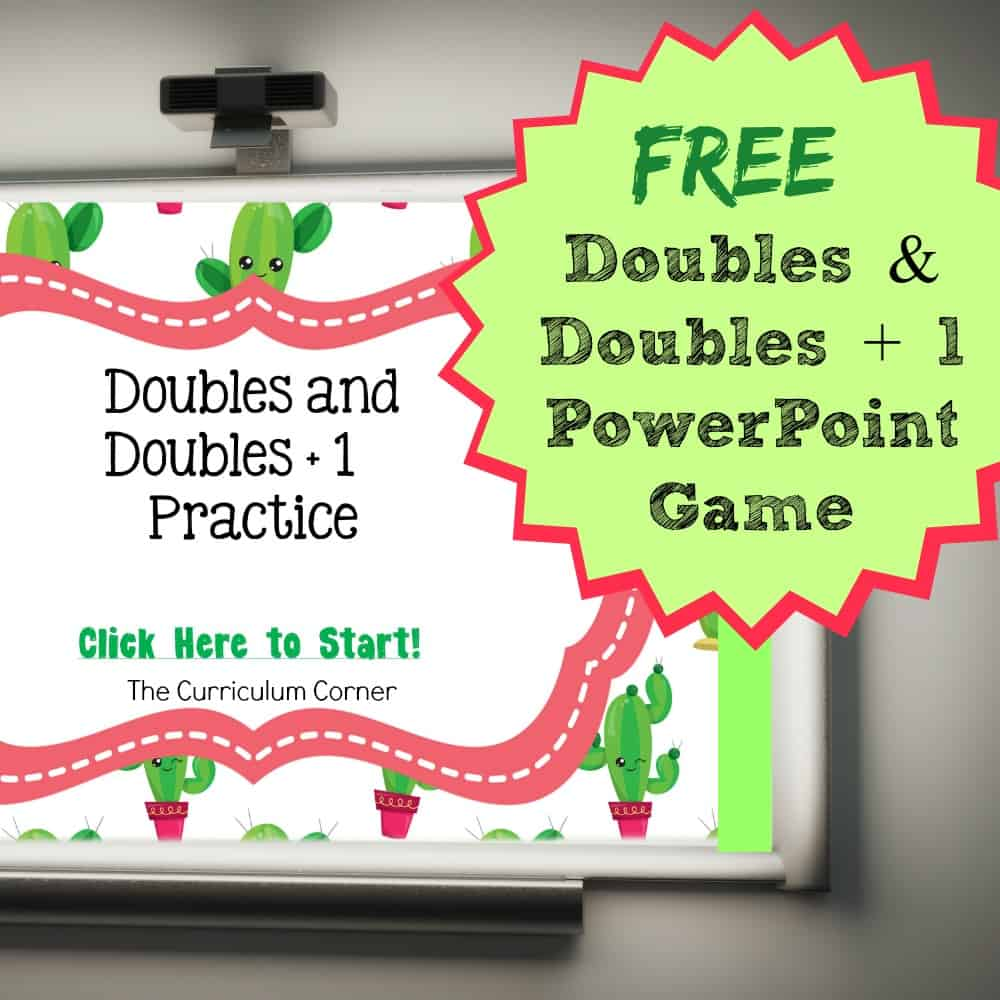 Doubles / Doubles + 1 PowerPoint Game